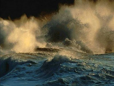 If they looked behind them, there was a mighty ocean which they had passed...