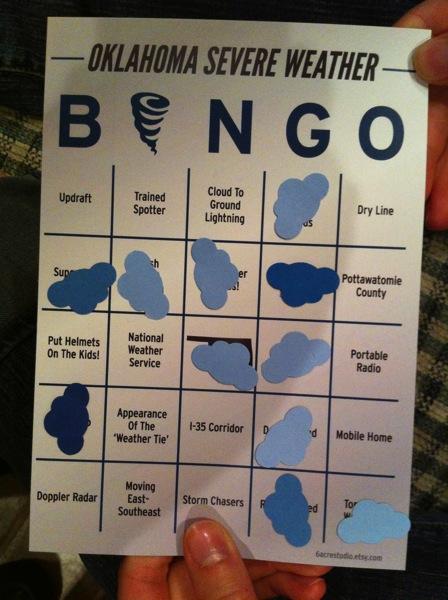 Hannah's winning card